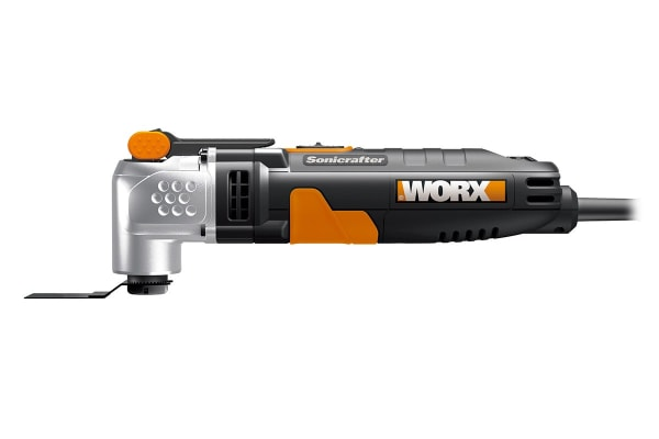 WORX 250W SoniCrafter Oscillating Multi Tool with 18 Piece Accessory Kit and Carry Bag (WX685)