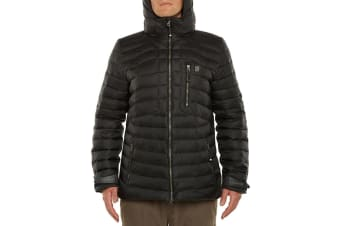 Vigilante Vinson Down Jacket - Black - Small