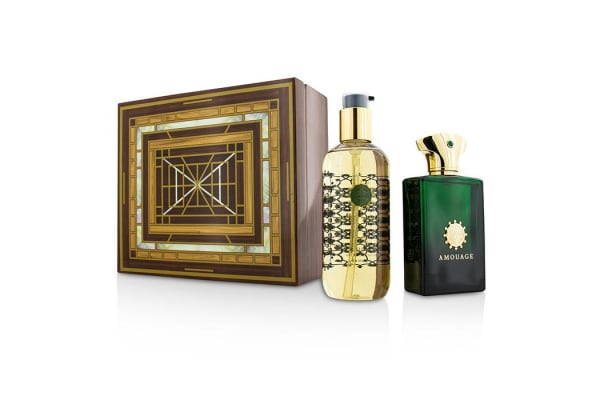 Amouage Epic Coffret: Eau De Parfum Spray 100ml/3.4oz + Bath & Shower Gel 300ml/10oz (2pcs)