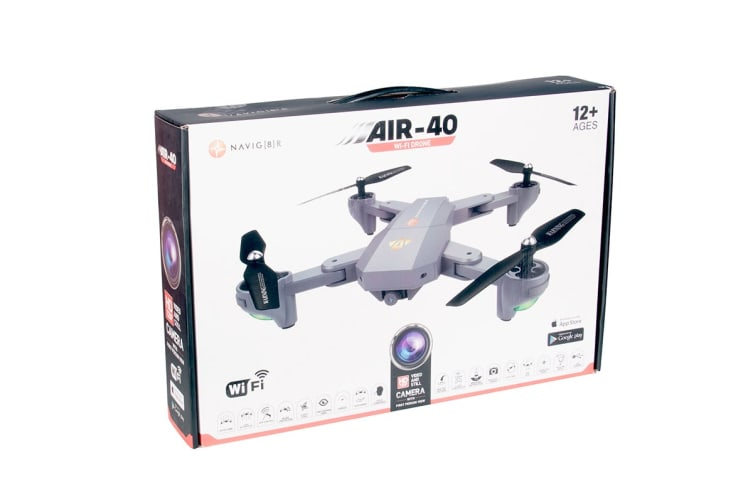 Laser 2.4G 6 Axis Drone with 640x640 FPV WiFi Camera (DRONE-WF40)