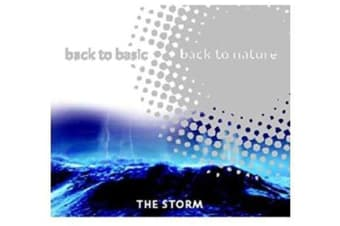 THE STORM Back to Basic to Nature Relaxing Sounds MUSIC CD NEW SEALED