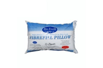 Bio Fresh Fibrefill Standard Size Pillow by Easyrest
