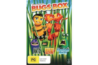 Dreamworks Bugs Box (Antz / Bee Movie / Flushed Away)