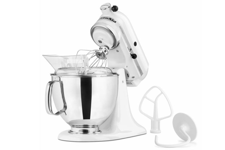 Surprising Kitchenaid Ksm150 Artisan Stand Mixer White 5Ksm150Psawh Download Free Architecture Designs Scobabritishbridgeorg
