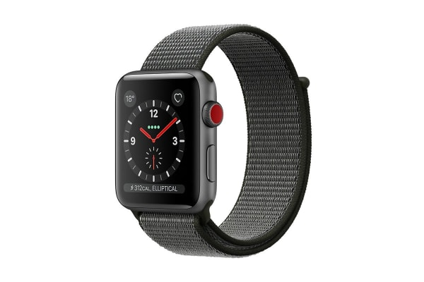 4fda02dfc49 Dick Smith | Apple Watch Series 3 (Space Grey, 38mm, Dark Olive ...