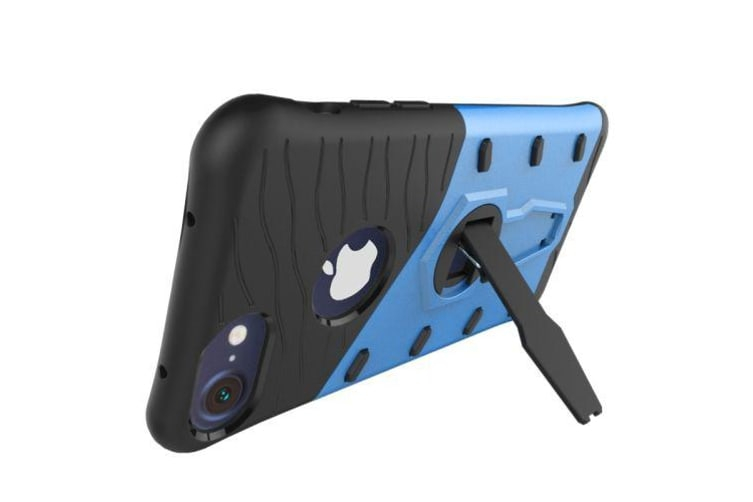 For iPhone 8 7 Case Modish Spin Armour High-Quality Durable Shielding Cover Blue
