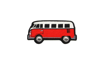 Grindstore Camper Van Patch (Red) (One Size)
