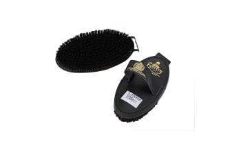 Equerry Natural Bristle Leather Body Brush (May Vary)