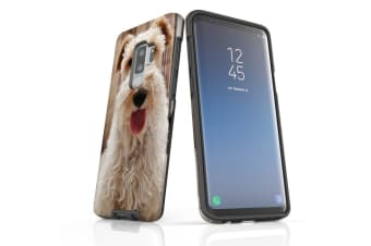 For Samsung Galaxy S9+ Plus Case Armour Cover  Tongued Out Wire Haired Foxy