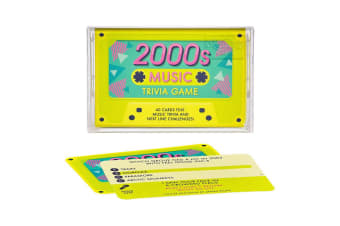 Music Trivia Game - 1980s, 1990s or 2000s - 2000s