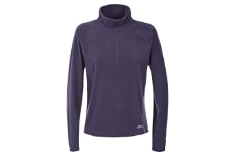 Trespass Womens/Ladies Shiner Half Zip Microfleece Top (Blackcurrant)