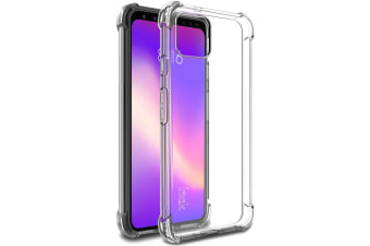 For Google Pixel 4 XL IMAK All-inclusive Shockproof Airbag TPU Case  Clear