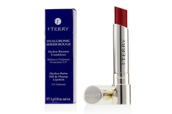 By Terry Hyaluronic Sheer Rouge Hydra Balm Fill & Plump Lipstick (UV Defense) - # 12 Be Red 3g