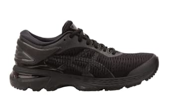 ASICS Women's Gel-Kayano 25 Running Shoe (Black/Black)
