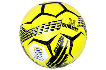 Summit ADV2 Size 5 Trainer Soccer Ball/Football Yellow Sport/Game Indoor/Outdoor