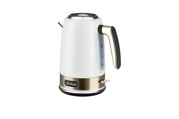 Sunbeam New York Collection Jug Kettle White Gold