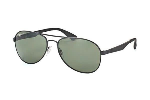 705083f8c4 Ray-Ban RB3549 - Matte Black (Grey Green lens)   61--16--145 Unisex ...