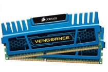 Corsair Vengeance 8GB (2x4GB) DDR3 1600MHz C9 Desktop Gaming Memory Blue