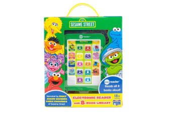 Sesame Street Me Reader and 8-Book Boxed Set