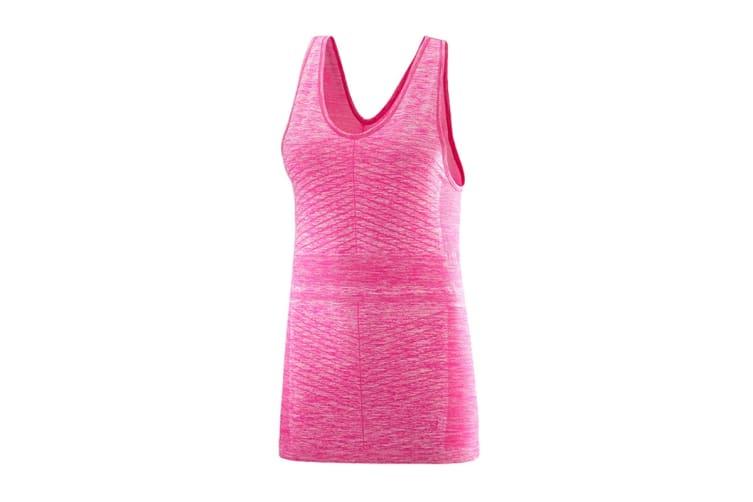 Salomon Elevate Move'On Tank Women's (Pink Yarrow, Size Small)