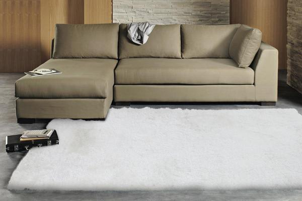 Twilight Shag Rug - White 225x155cm