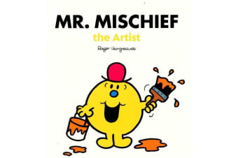 Mr. Mischief The Artist - By Roger Hargreaves