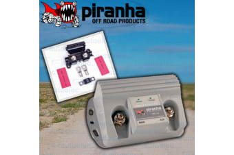PIRANHA DUAL BATTERY ISOLATOR & MANAGEMENT SYSTEM 12V DBE140SF AMP CHARGER