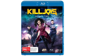 Killjoys Season 2 Blu-ray Region B