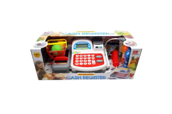 Electronic Toy Cash Register with Scanner