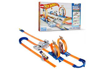 Hot Wheels Total Turbo Takeover Track and Builder System
