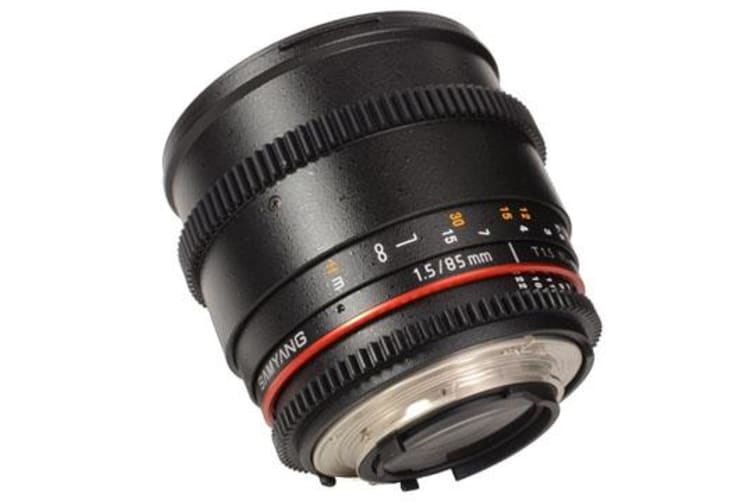 New Samyang 85mm T1.5 AS IF UMC VDSLR II Lens for Canon (FREE DELIVERY + 1 YEAR AU WARRANTY)