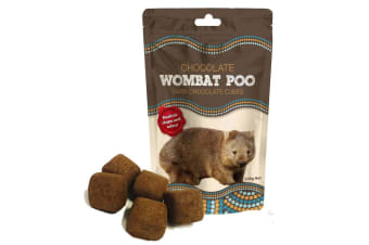 Wombat Poo Dark Chocolate Cubes With White Filling