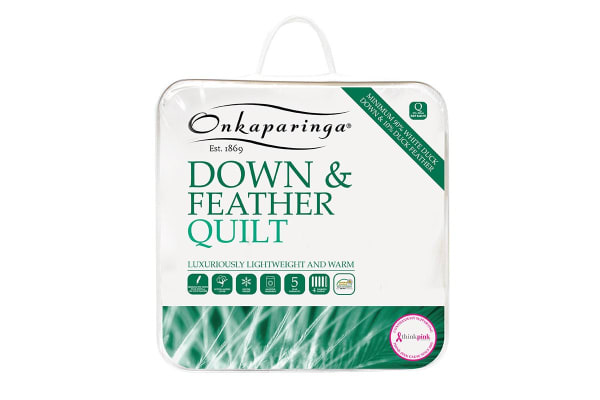 Onkaparinga 90% Duck Down Quilt (Queen)