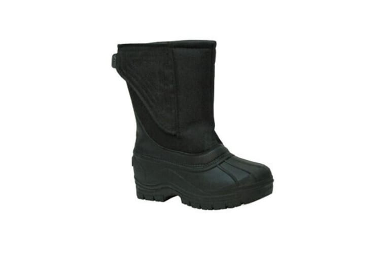 XTM Kid Unisex All Terrain Boots & Shoes Galaxy Kids Boot Black - 23-24