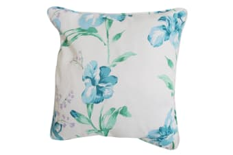 Emma Barclay Alexis Floral Design Cushion Cover (Cushion Pad Not Included) (Blue)