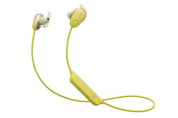Sony In-Ear Sports Noise Cancelling Headphones with Bluetooth - Yellow (WISP600NY)
