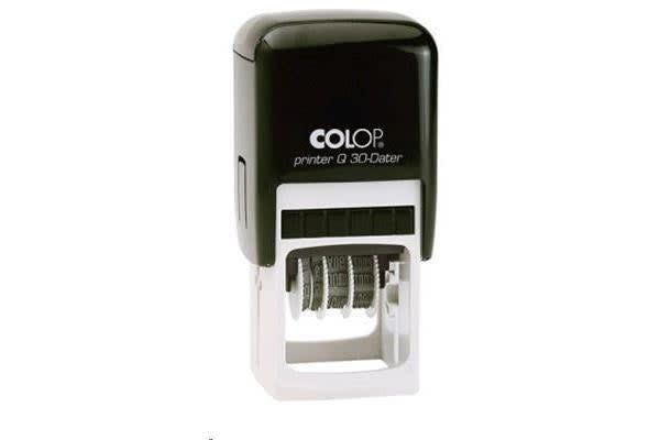 COLOP Stamp,Printer Q30 Black 31x31mm,Square