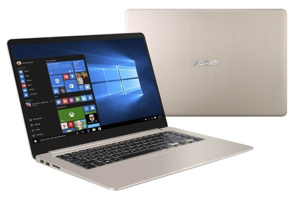 "ASUS 15.6"" VivoBook Slim i7-7500U 8GB RAM 1TB HDD 128GB SSD 940MX GFX Windows 10 Pro FHD Notebook (K510UQ-BQ338R)"