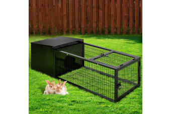 i.Pet Rabbit Cage Hutch Cages Indoor Hamster Enclosure Pet Bunnings Carrier BL