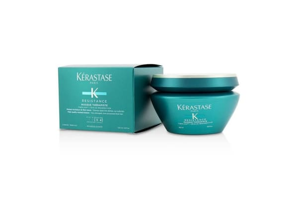 Kerastase Resistance Masque Therapiste Fiber Quality Renewal Masque - For Very Damaged, Over-Processed Thick Hair (New Packaging) (200ml/6.8oz)