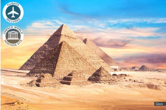 EGYPT: 10 Day Walk Like an Egyptian Tour Including Flights for One or Two