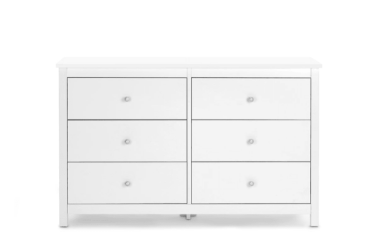 Shangri-La Chest of 6 Drawers - Brighton Collection (White)