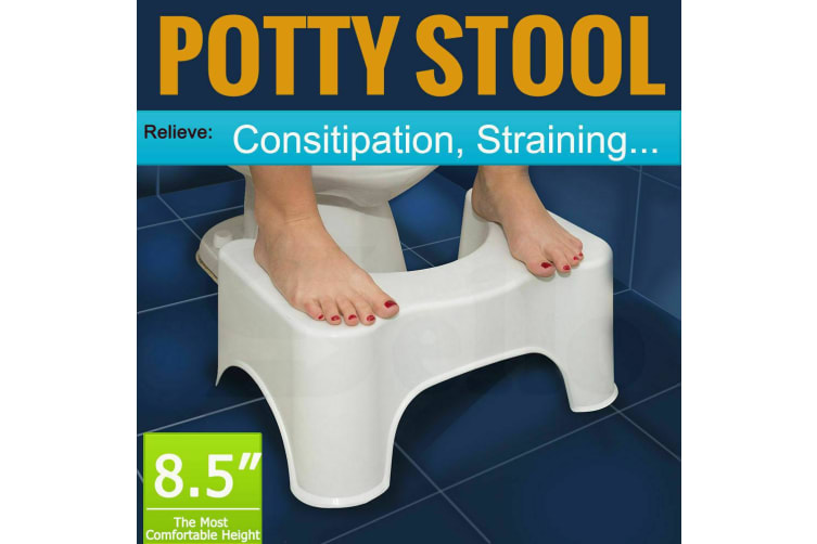 Most Comfort! Sit And Squatty Potty ECO Toilet Bathroom Stool Healthy Colon
