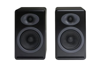 Audioengine P4 Passive Bookshelf Speakers Pair - Satin Black