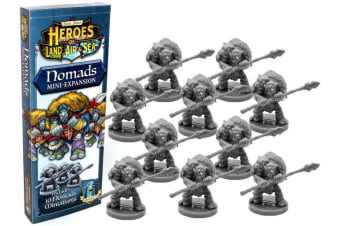 Heroes of Land  Air & Sea - Nomads Expansion