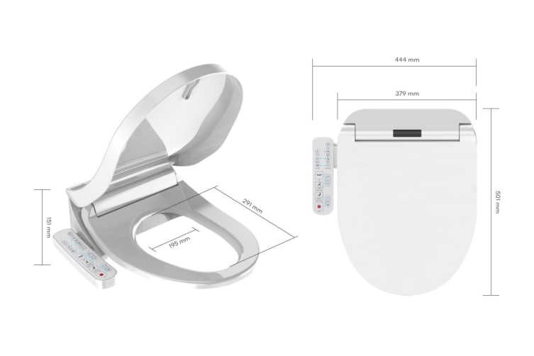 Kogan Smart Wash & Dry Electric Toilet Seat