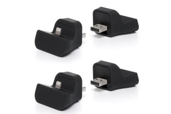 2PK Blue Lounge Mini Dock Lightning Connector/Charger for iPhone 6 7 Plus/iPod