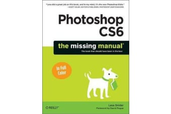 Photoshop CS6 - The Missing Manual