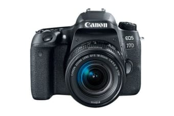 New Canon EOS 77D 18-55mm Kits 24MP Digital SLR Camera (FREE DELIVERY + 1 YEAR AU WARRANTY)