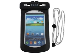 Underwater Floating Waterproof Phone Case - Large Black 17cm